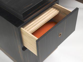 ebony desk detail 1