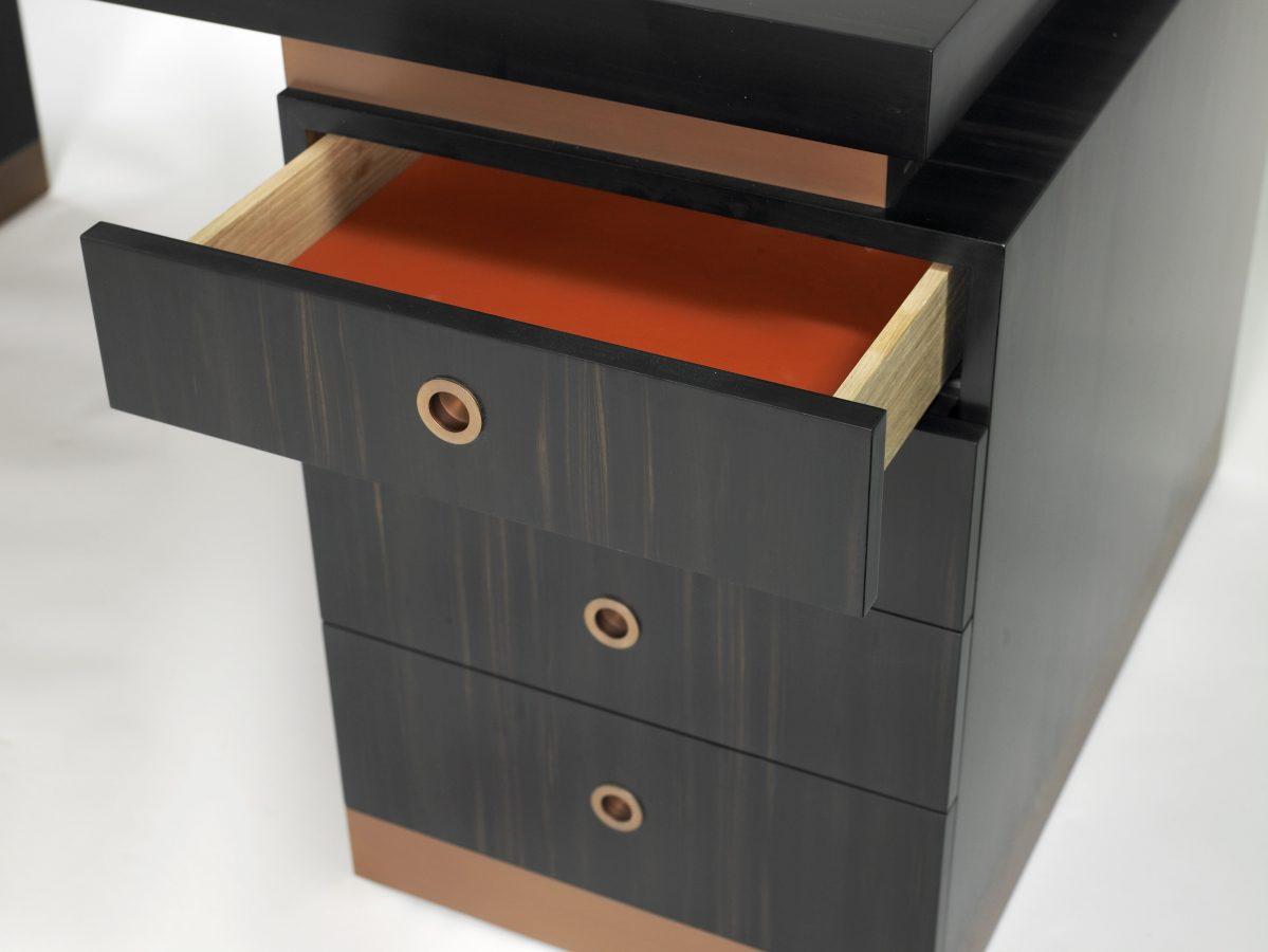 ebony desk detail 2