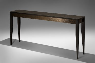 ziricote console table 2