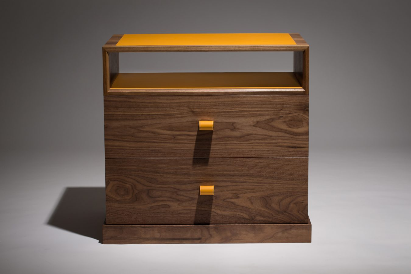 walnut bedside cabinets
