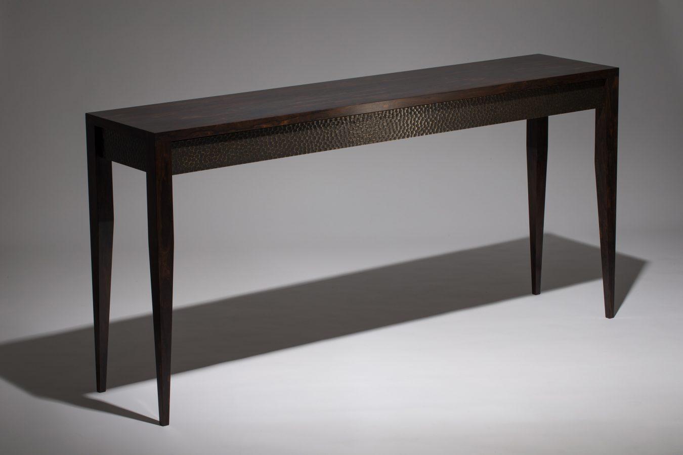 ziricote console table