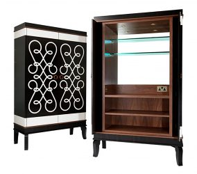 macassar drinks cabinet interior