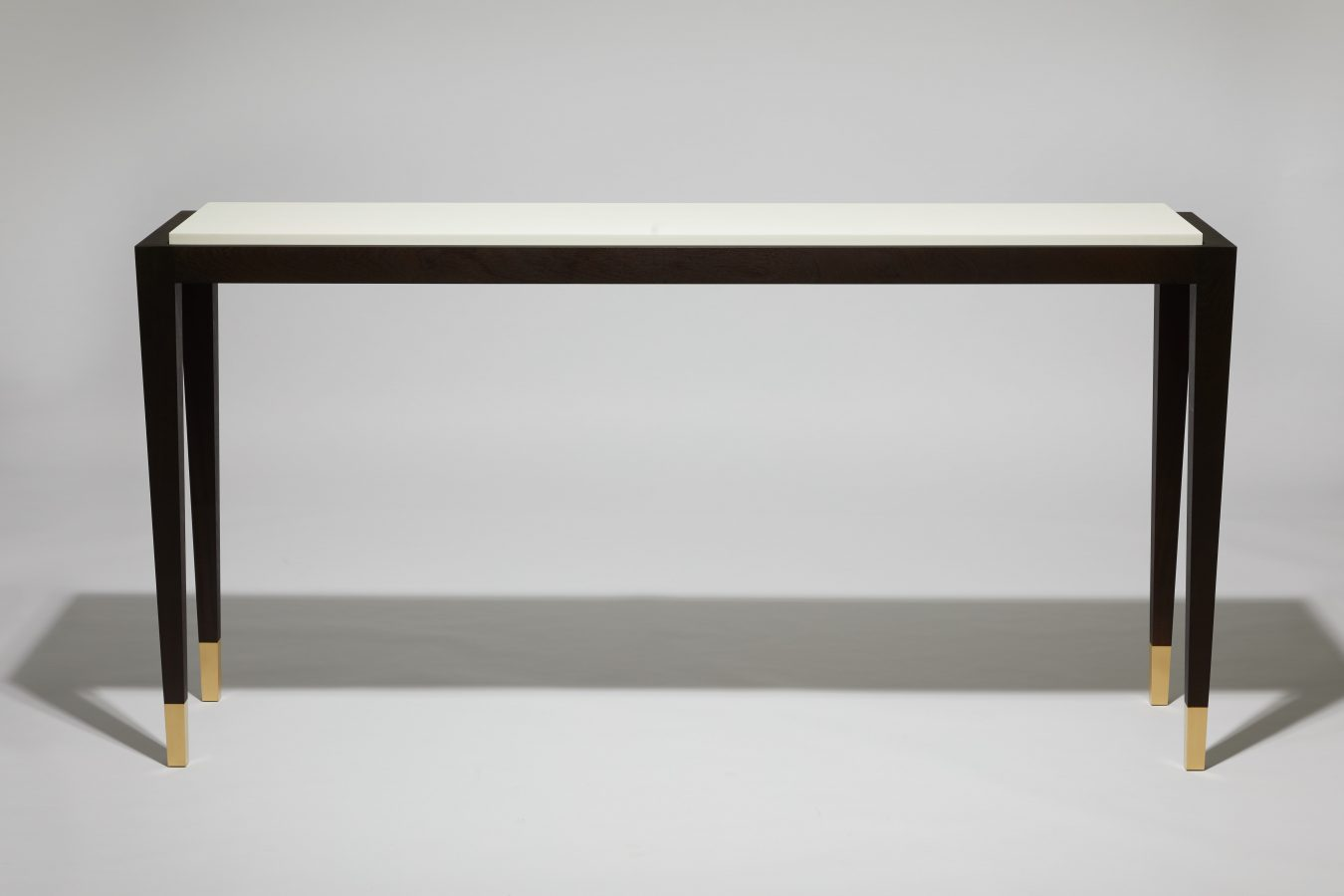 modern table walnut corian 2